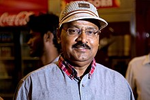 Actor Director K Bhagyaraj at the Sathuranga Vettai Audio Launch.jpg
