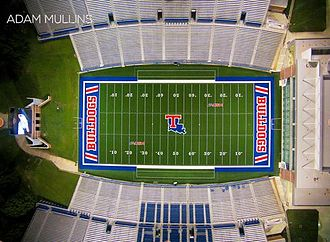 Joe Aillet Stadium - Image: Adam Mullins Football Field