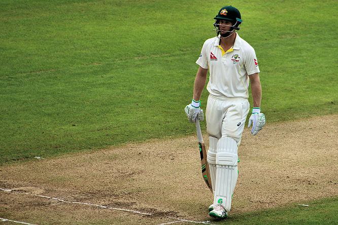 Voges playing for Australia in 2015 Adam Voges - The Ashes Trent Bridge 2015 (20238132330).jpg