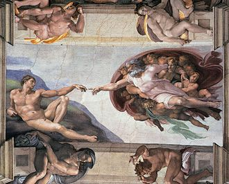 Chronology of the Bible - Creation of Adam (Michelangelo)
