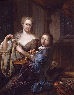 Adriaan van der Burg 18th century painter from the Northern Netherlands