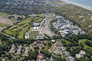 European Space Research and Technology Centre - Image: Aerial view of ESA s technical centre ESTEC