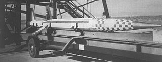 Aerojet General X-8 Experimental spin-stabilized rocket for very high altitude research