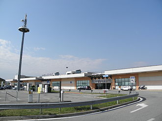 Brescia Airport - Image: Aeroporto di Brescia Montichiari