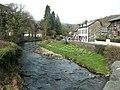 Afon Colwyn at Beddgelert in spring - geograph.org.uk - 1801240.jpg