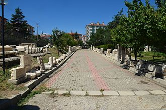 Afyonkarahisar Archaeological Museum - Museum's backyard