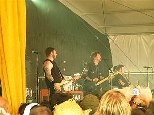 2010 Bonnaroo Music Festival - Against Me! performing