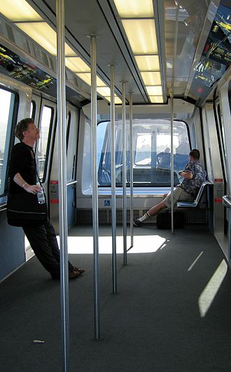 AirTrain (San Francisco International Airport) - AirTrain interior