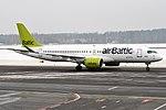 Air Baltic, YL-CSD, Bombardier CS300 (35595345482) (2).jpg