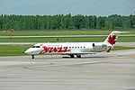 Air Canada Jazz, Canadair CL-600-2B19 Regional Jet CRJ, C-GKFR (19236839555).jpg