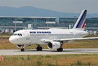 F-GRHZ - A319 - Air France