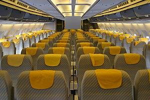 Airbus A310 - Lufthansa A310-300 cabin