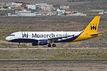 Airbus A320-214 'G-OZBX' Monarch (24859822045).jpg