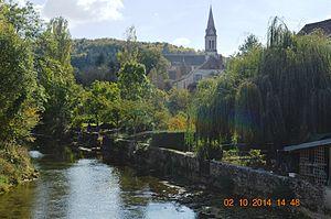 Aisey-sur-Seine - The Seine at Aisey-sur-Seine