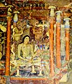 Ajanta Cave 1 Ceremonial bath of Mahajanaka.jpg