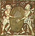 Ajanta Cave 2 foreigners with watermelon.jpg