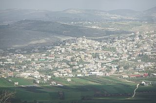 Ajjah Municipality type C in Jenin, State of Palestine