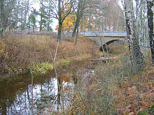 Mästerby - Image: Ajmunds bro
