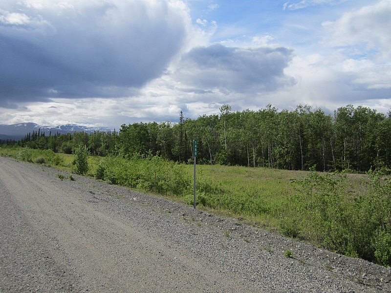 File:Alaska Highway km 1466.jpg