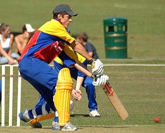 Alastair Cook - Alastair Cook batting in 2005