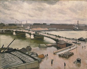 Rouen, quay of Paris, 1912