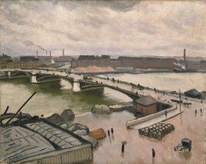 Rouen, quai de Paris, 1912