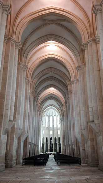 Alcobaça Monastery - main church