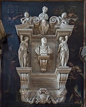 Alessandro Vittoria - Alessandro Vittoria funerary monument - San Zaccaria, Venice
