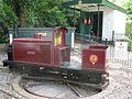 Alexander Park Miniature Railway locomotive Bridget.JPG