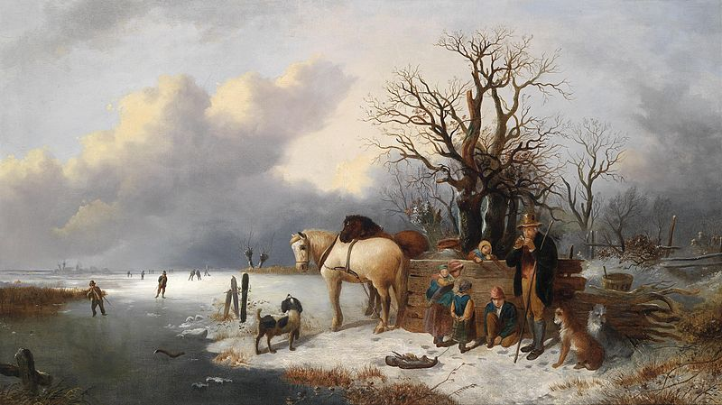 File:Alexis de Leeuw (attr) Winter.jpg