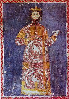 Alexios Doukas Mourtzouphlos, the probable mastermind behind John Komnenos' coup (Wikipedia)