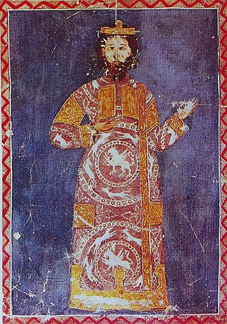Alexios V Doukas - Alexios V, from an illuminated manuscript