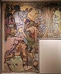 Alfons mucha, l'epoca romana e l'arrivo degli slavi, dipinto per padiglione bosnia-h. all'esp. univ. di parigi del 1900, 04,1.jpg