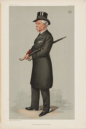 Algernon Freeman-Mitford, 1st Baron Redesdale - Portrait in 1902 by Leslie Ward