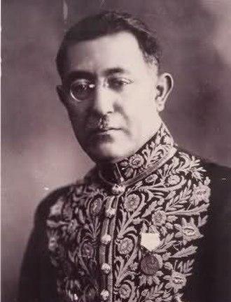 Ali-Akbar Davar - Ali-Akbar Dāvar in 1937.