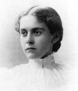 Alice Hamilton - Alice Hamilton in 1893, the year she graduated from medical school