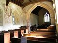 All Saints Church, Little Kimble Buckinghamshire, England. Interior. Nave & chancel.jpg