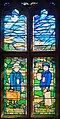 All Saints church, Sudbury - evacuees' gratitude stained glass window by Michael Stokes.jpg
