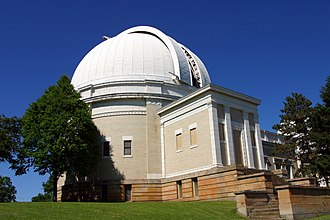Perry North (Pittsburgh) - The Allegheny Observatory at the top of Observatory Hill.