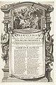 Allegorie op het huwelijk van graaf Willem Frederik van Nassau en Albertina Agnes, 1652 Epithalamium in nuptias Wilhelmi Frderici et Albertinae-Agnetis (titel op object), RP-P-OB-82.303.jpg
