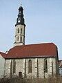 Allerheiligenkirche Mühlhausen von Süden.JPG