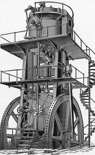 Blowing engine - Allis vertical blowing engine
