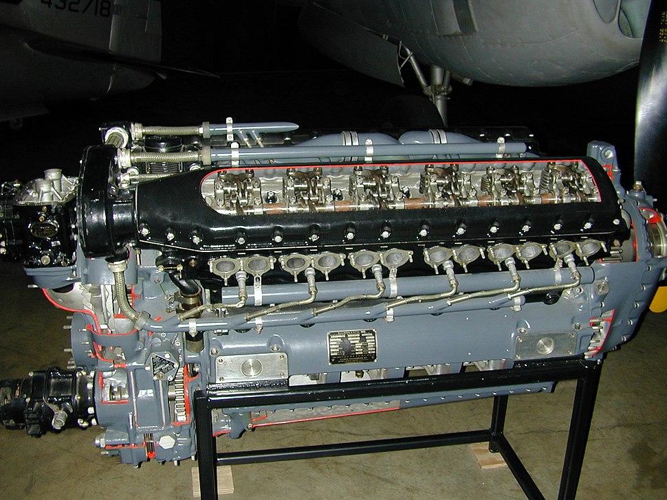 Allison V-1710 Engine 1