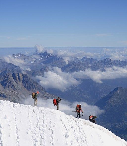 Alpinistes Aiguille du Midi 03