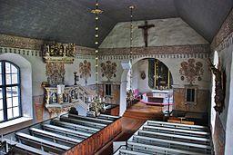 Kirkens interiør
