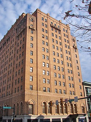 National Register of Historic Places listings in Lehigh County, Pennsylvania - Image: Americus Allentown PA