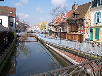 Venice of the North - Image: Amiens quartier saint leu canaux 200503