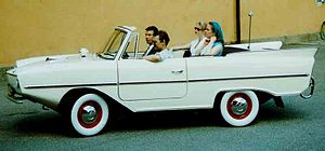 Amphicar - Motoring