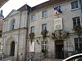 Ancien couvent des Ursulines, actuel Hôtel de Ville et tribunal (entrées).jpg