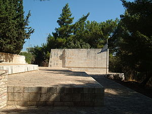 Metzudat Koach - A monument to the fallen in Metzudat Koach